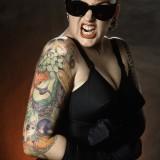 Jill Jordan Tattoo Artist.  Don Ed Hardy